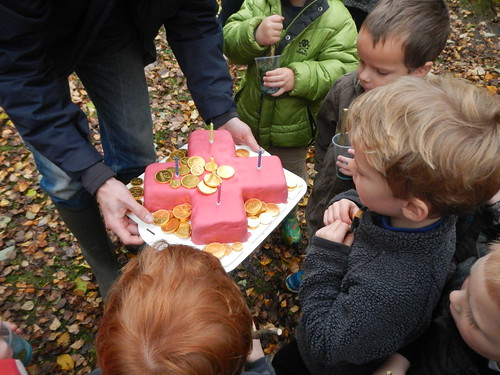 Birthday in the woods