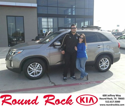 Thank you to Antonio Avila on your new 2014 #Kia #Sorento from Eric Armendariz and everyone at Round Rock Kia! by RoundRockKia