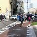 Inaugurata la ciclabile in via De Castillia