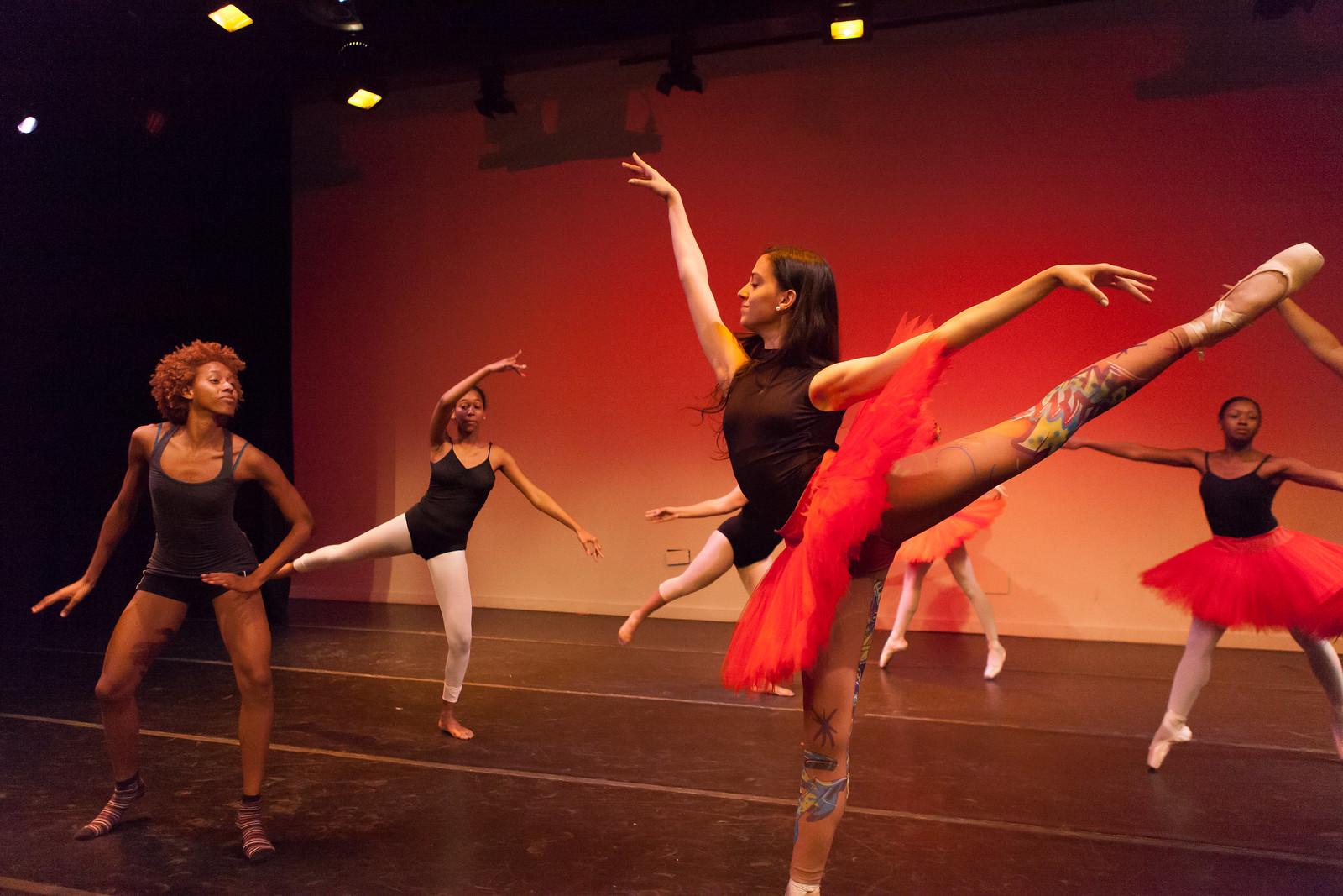Brooklyn Ballet Elevate@10 Rehearsal by wwward0