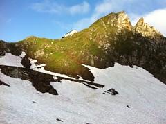 Lenkjöchlhütte in Sicht