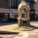 Taff St Fountain in summer