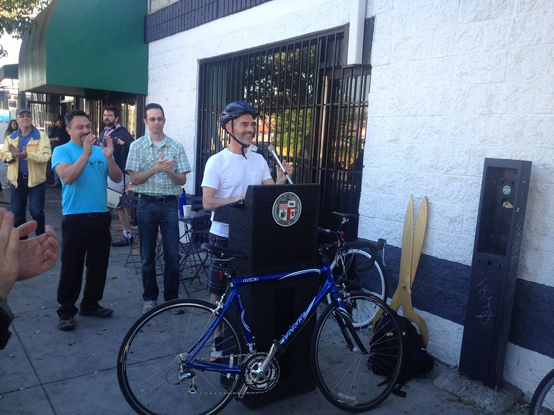 Virgil Village bike lane dedication