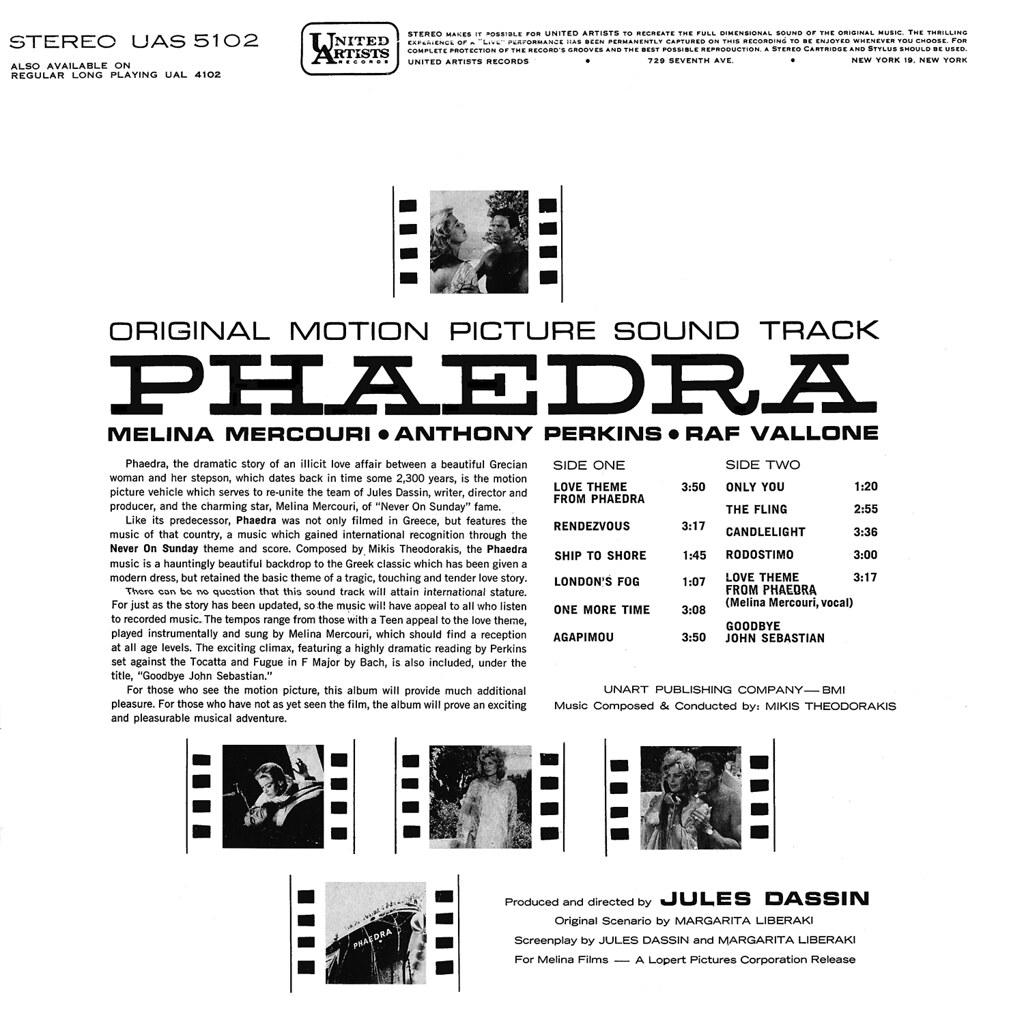 Mikis Theodorakis - Phaedra
