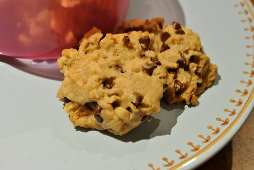 Chocolate Chip Bourbon Cookies
