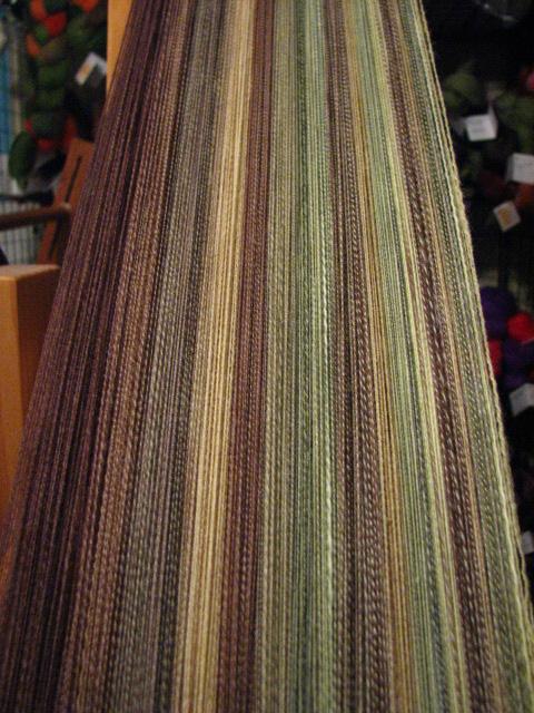Forest Targhee Fractal Hand Spun Yarn