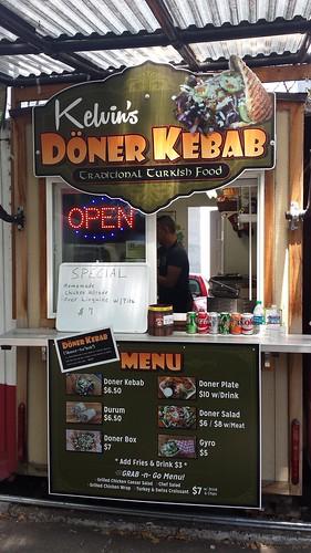 Turkish food cart Portland