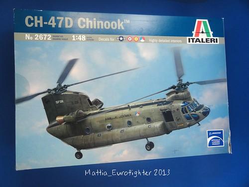 CH47 Chinook Italeri 1/48