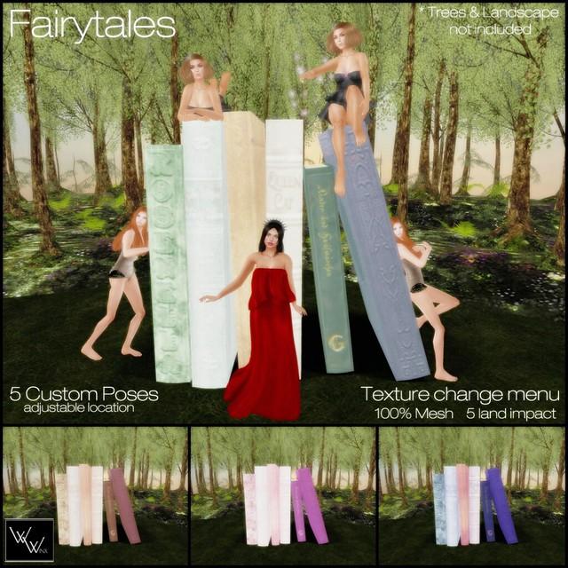 W. Winx - Fairytales Poses & Prop - Vendor Image