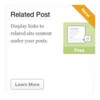WordPressのプラグイン、Jetpackで関連記事の表示ができるようになった!!