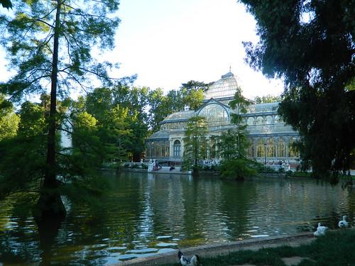 Palacio de Cristal de Parque de El Retiro, Madrid