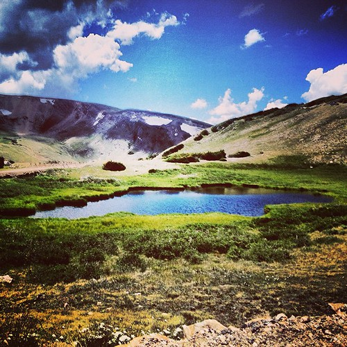 Old Falls Road Summit #colorado by @MySoDotCom