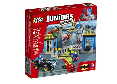10672 Juniors Batman Defend the Batcave BOX