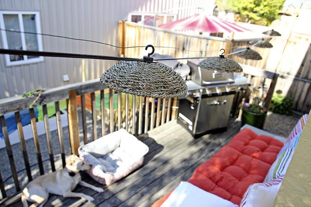 new deck setup