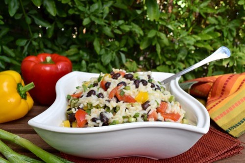 caribbean black bean salad