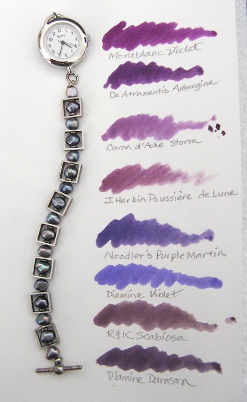 Purple Inks