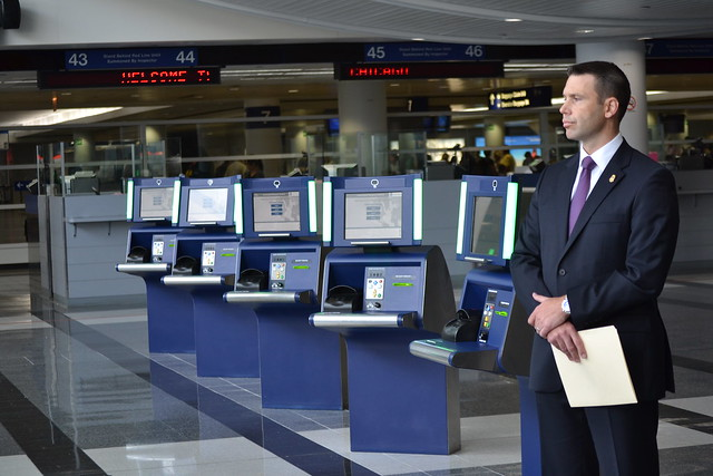 CBP Partners with Chicago Department of Aviation to Launch Self-Service Kiosks at O'Hare