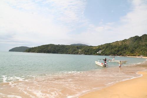 Boats on Praia das Palmas