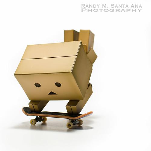 Danbo Skateboard Trick.