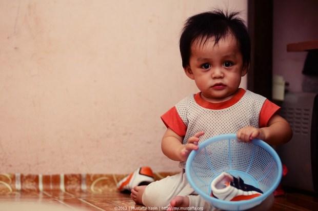 Gambar Nufail - Bayi 10 Bulan Yang Comel