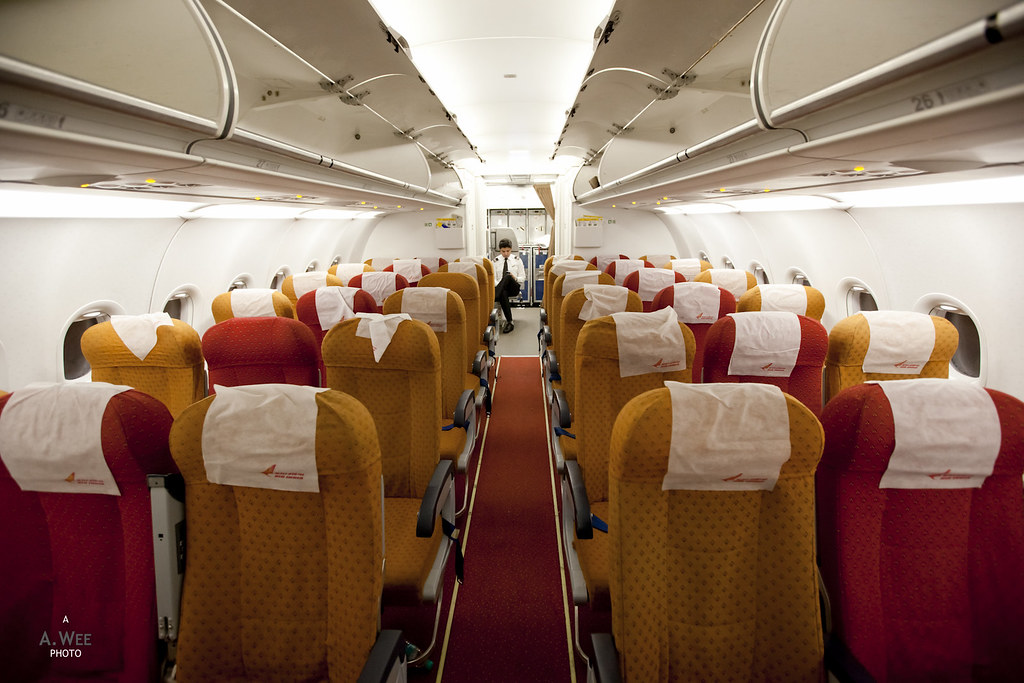Economy Class onboard the A321