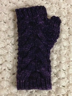 Molly-Inspired Fingerless Mitt