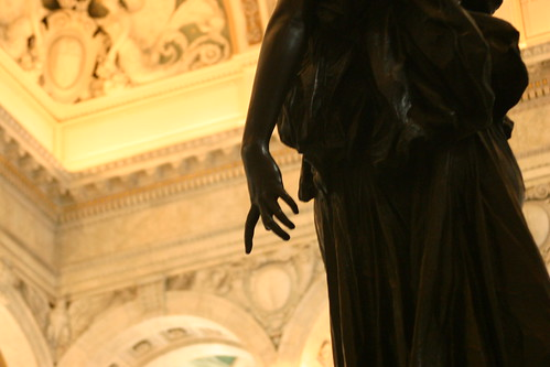 Statue in Library of Congress