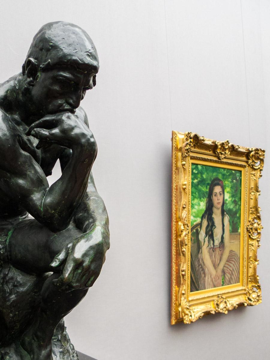 Dos Augustes (Rodin y Renoir)