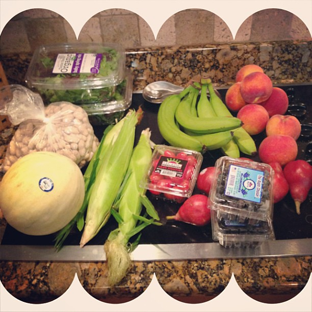 Successful trip to the farmer's market today! #buylocal