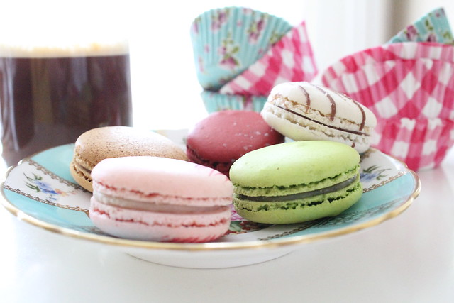coffee macarons cupcake liners dolce gusto point g
