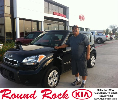 Thank you to Emeterio Amaya on your new 2011 #Kia #Soul from Amir Mahboubi and everyone at Round Rock Kia! #RollingInStyle by RoundRockKia