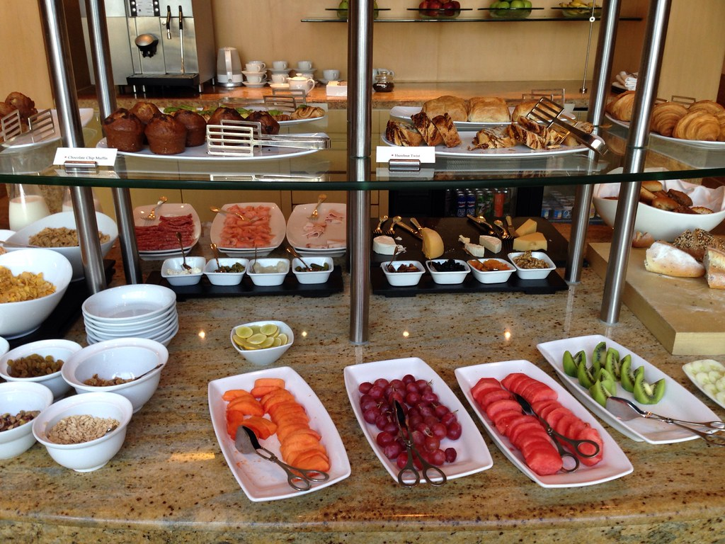 Breakfast Spread at the Grand Club