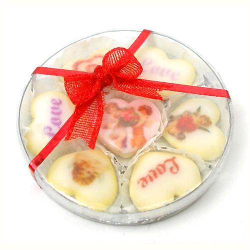 Valentine Cookies Doll's House Miniature Food Handmade