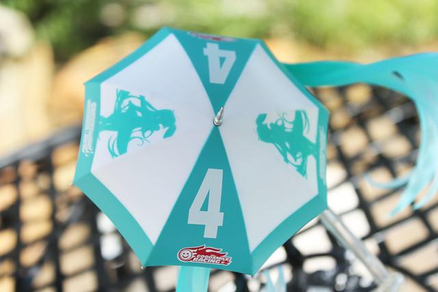 parasol open