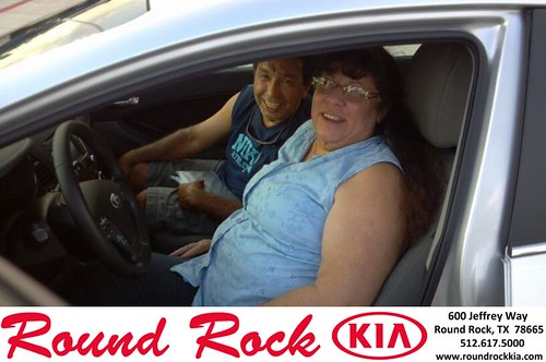 Thank you to Tony & Susie Alvarado on the 2014 Kia Forte from Ben Mitchell  and everyone at Round Rock Kia! by RoundRockKia