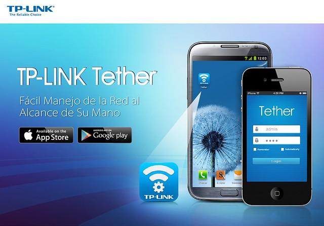 Aplicacio?n mo?vil - TP-LINK Tether
