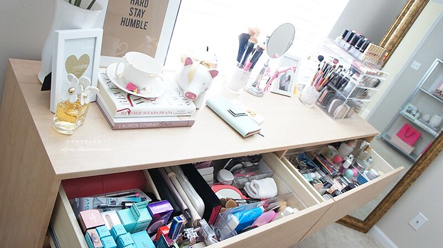 Makeup Collection & Storage