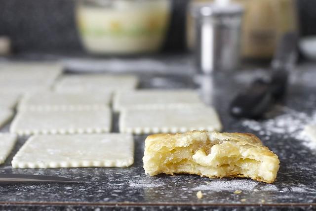 rhubarb cream cheese hand pie, tester