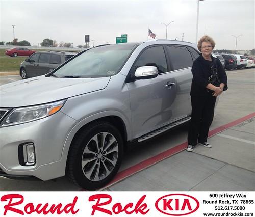 Thank you to Lenora  Weaver on your new 2014 #Kia #Sorento from Bobby Nestler and everyone at Round Rock Kia! #NewCarSmell by RoundRockKia
