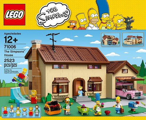 71006 The Simpsons House BOX
