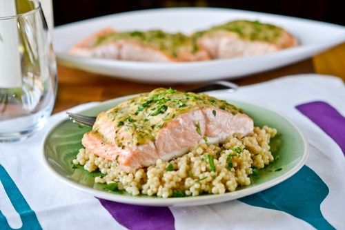 Mustard-Maple Roasted Salmon-8