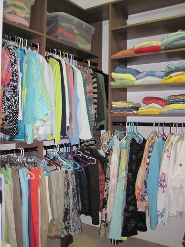 Closets - finally!