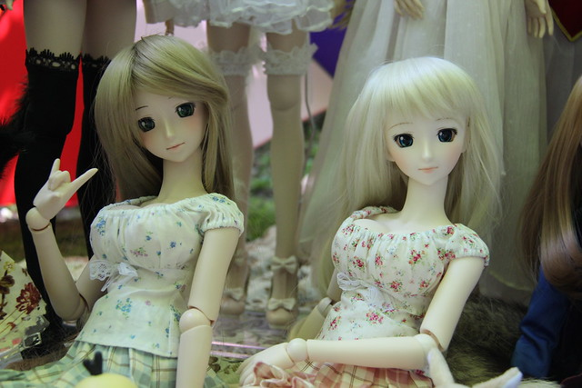 Doll meet at Edward Gardens