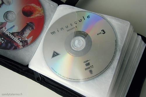 Dvd-levyjen säilyttäminen