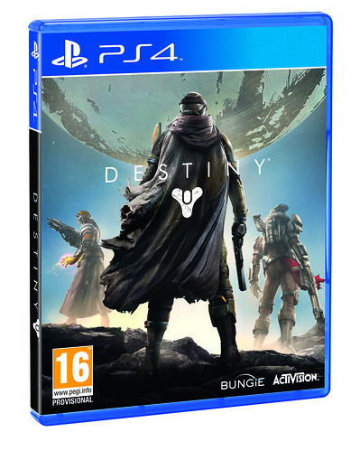 Destiny box art revealed for PS3 and PS4 - PlayStation ...