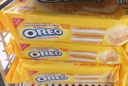 Nabisco Limited Edition Marshmallow Crispy Oreo