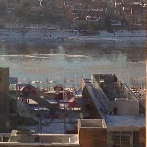 Ice on the Ohio River