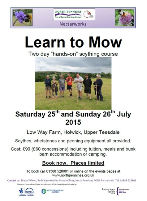 Learn to mow