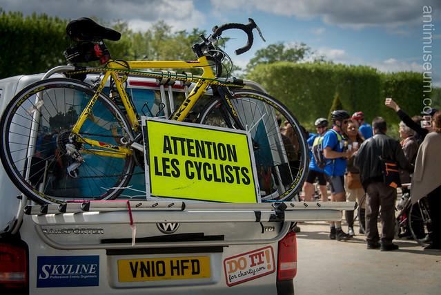 The London to Paris Bike Ride