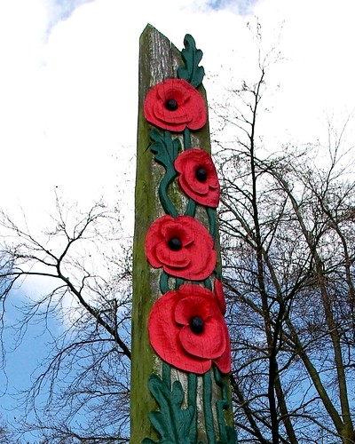 20130502-01b_Poppy Tree Carving_Coventry War Memorial Park - Copy by gary.hadden